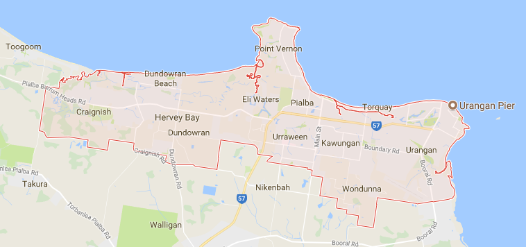 Hervey Bay Map