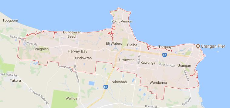 Hervey Bay Map